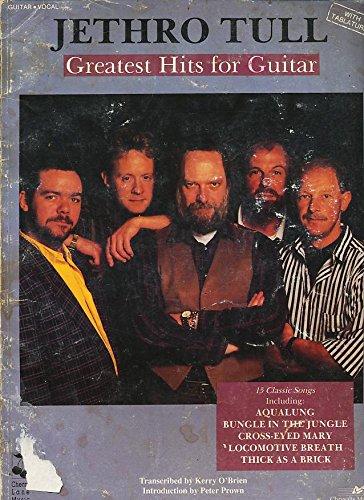 9780895245366: Jethro Tull / Greatest Hits for Guitar