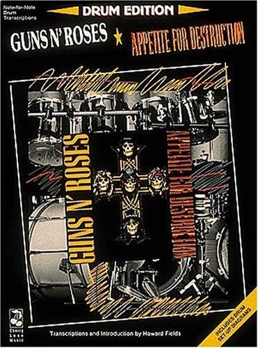 9780895245564: Guns N' Roses - Appetite For Destruction - Drums