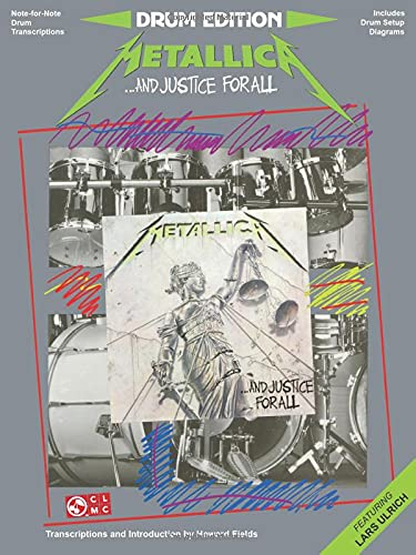 9780895245762: Metallica - ...and Justice for All: Drum Edition - Includes Drum Setup Diagrams (Play it Like it is)