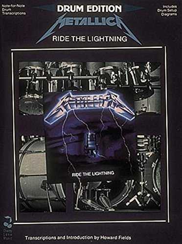 9780895246103: Metallica - Ride the Lightning: For Drums: Drum Edition - Includes Drum Setup Diagrams (Play it Like it is)