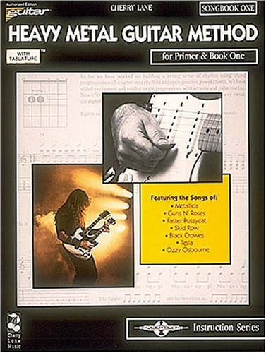 9780895246608: Heavy Metal Guitar Method: For Primer and Book 1 Songbook 1 (Play it Like it is Instructional)
