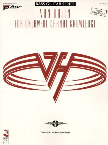 9780895247223: Van Halen: For Unlawful Carnal Knowledge (Bass Guitar Series)