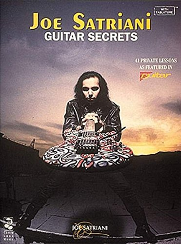 9780895247384: Joe Satriani: Guitar Secrets
