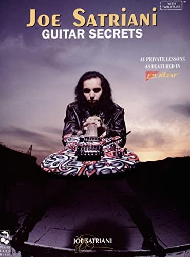 9780895247384: Joe Satriani: Guitar Secrets