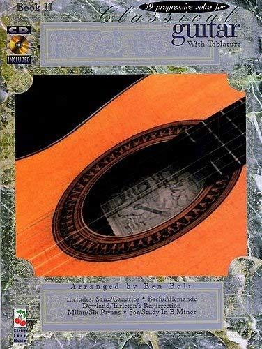 9780895247421: 39 Progressive Solos for Classical Guitar: Book II