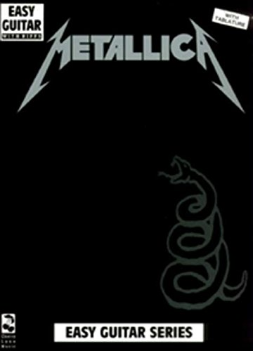 9780895247568: Metallica: (Black): Easy Guitar and Vocal (Play it Like it is)