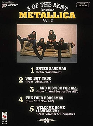 9780895247803: Metallica - 5 of the Best/Vol. 2* (Play it Like it is)