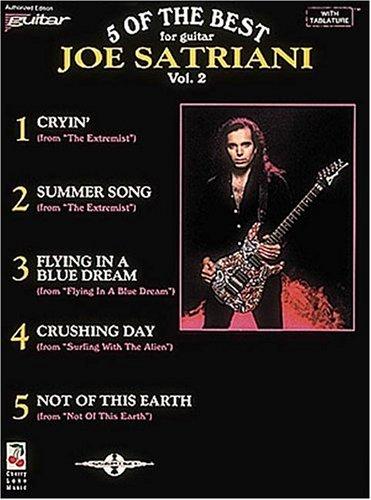9780895247810: Joe Satriani - Five of the Best Play-It-Like-It-Is Guitar