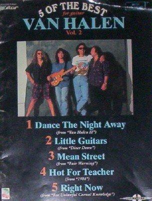 9780895248022: Van Halen: 5 of the Best for Guitar, Vol 2 (Best of Van Halen for Guitar, Volume 2)