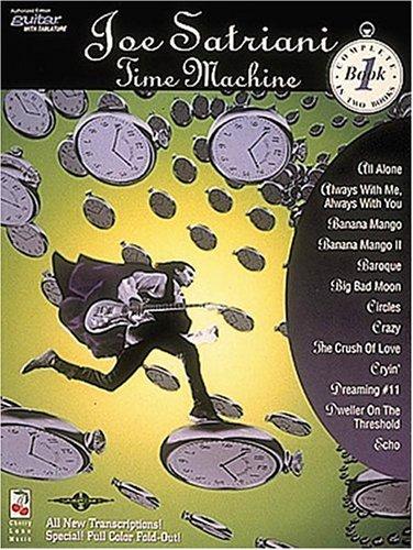 9780895248169: Joe Satriani: Time Machine, Book 1