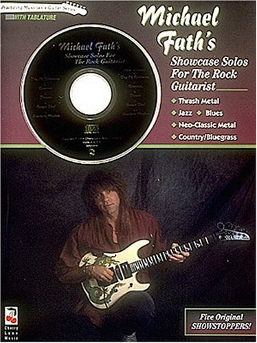 9780895248312: Michael Fath's Showcase Solos For The Rock Guitarist - Book/cd Pack