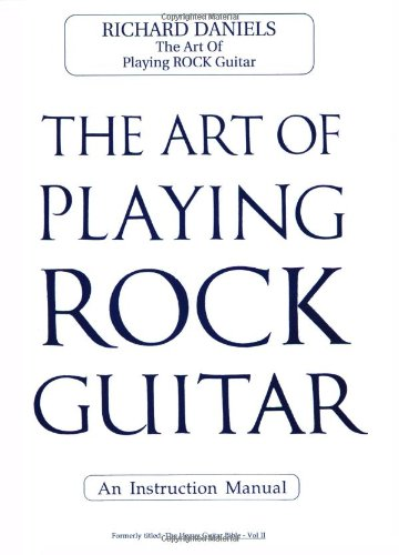 9780895248954: The Art of Playing Rock Guitar