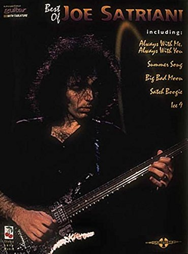 9780895249173: The Best of Joe Satriani: Guitar with Tablature (Play It Like It Is)