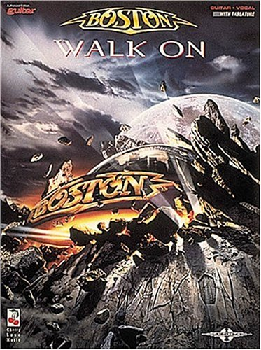 9780895249197: Boston - Walk On - Play-it-like-it-is-guitar Guitar Vocal with Tablature