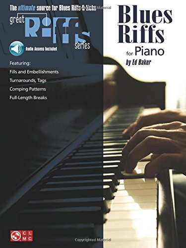 9780895249296: Blues Riffs for Piano (Educational Piano) Book & Online Audio