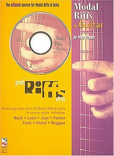 9780895249449: Great Modal Riffs For Guitar - Book/cassette Pack