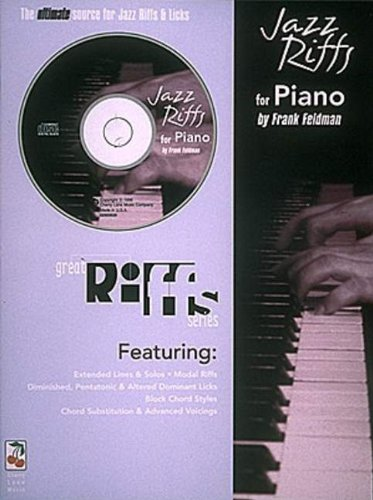 Jazz Riffs for Piano (Great Riffs) with CD: Feldman, Frank