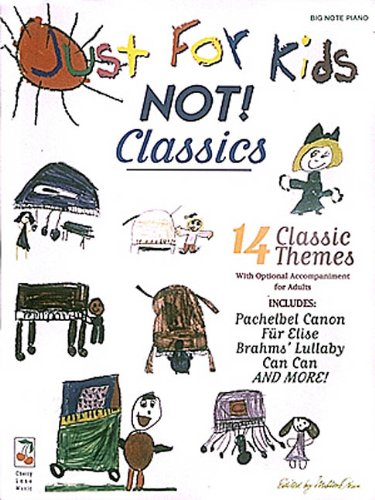 9780895249852: Just For Kids Classics Easy Piano