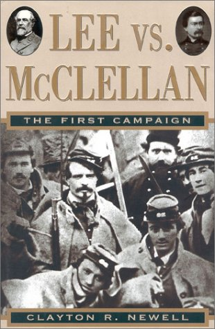 9780895264527: Lee vs. McClellan: The First Campaign