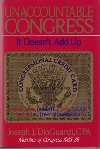 Unaccountable Congress It Doesn't Add Up [inscribed]