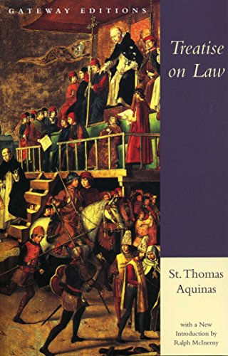 9780895267054: Treatise on Law: Summa Theologica, Questions 90-97