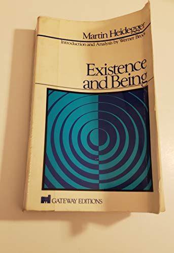 9780895269355: Existence and Being