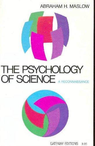 9780895269720: Psychology of Science: A Reconnaissance