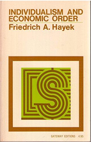 9780895269942: Individualism and economic order