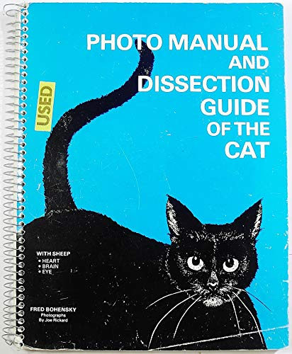 9780895290199: Photomanual and Dissection Guide of Cat