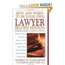 9780895295231: How and When to Be Your Own Lawyer