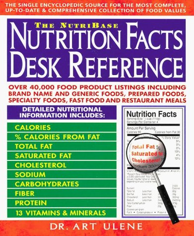 9780895296238: The NutriBase Nutrition Facts Desk Reference