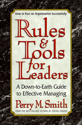 9780895298355: Rules and Tools for Leaders