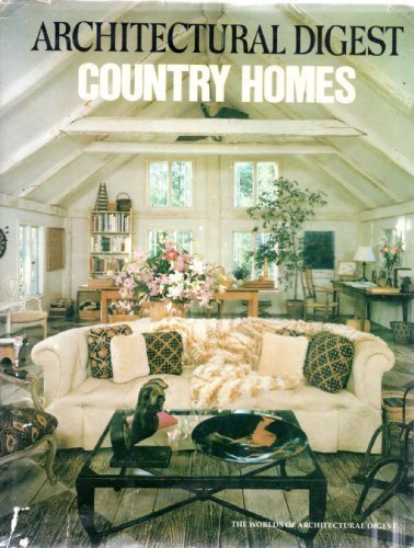 9780895351029: Country Homes (The Worlds of Architectural digest)
