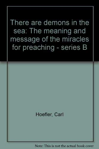 There are demons in the sea: The: Hoefler, Carl