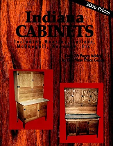 Indiana Cabinets Including Hoosier, Sellers, McDougall, Napanee,: Sales, L-W Book