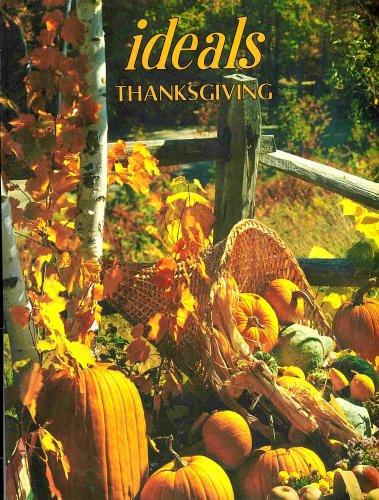 9780895423276: Thanksgiving, Vol.36, No.7 (October, 1979) (Ideals)