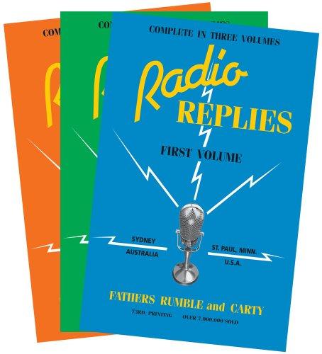 9780895551597: Radio Replies: Three Volume Set