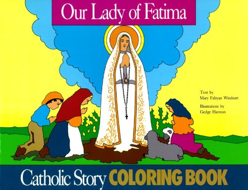 9780895553577: Our Lady of Fatima Coloring Book