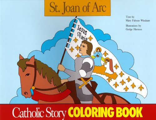 9780895553676: St. Joan of Arc Coloring Book