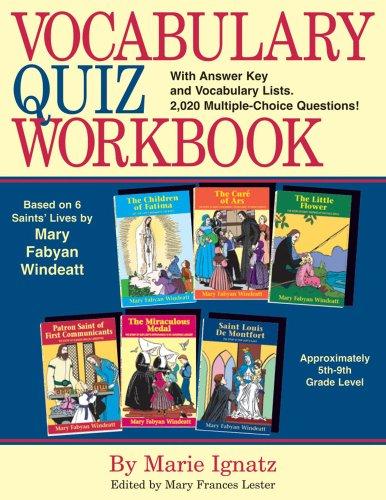 9780895557438: Vocabulary Quiz Workbook