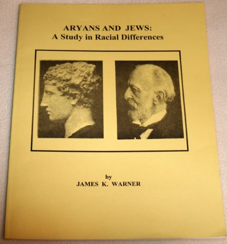 9780895621665: Aryans and Jews: A Study in Racial Differences