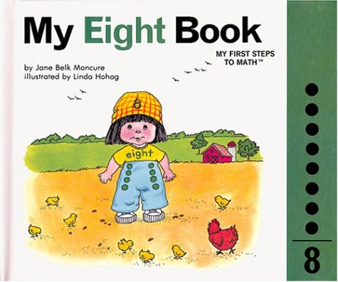My Eight Book : My Number Books: Jane Belk Moncure