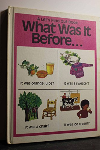 What Was It Before It Was Orange: Moncure, Jane Belk