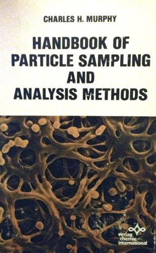 9780895731166: Handbook of Particle Sampling and Analysis Methods