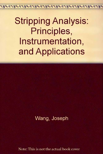 9780895731432: Stripping Analysis: Principles, Instrumentation, and Applications