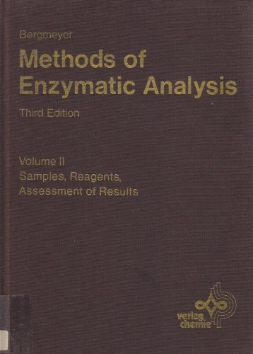 9780895732323: Methods of Enzymatic Analysis, Vol. 2: Samples, Reagents, Assessment of Results