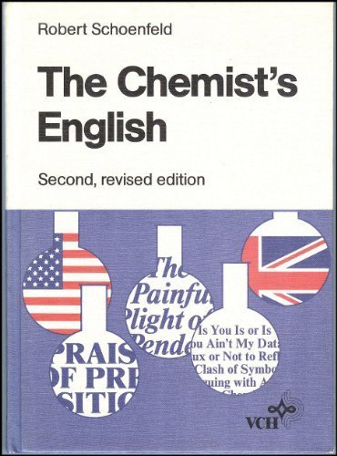 9780895735997: The chemist's English