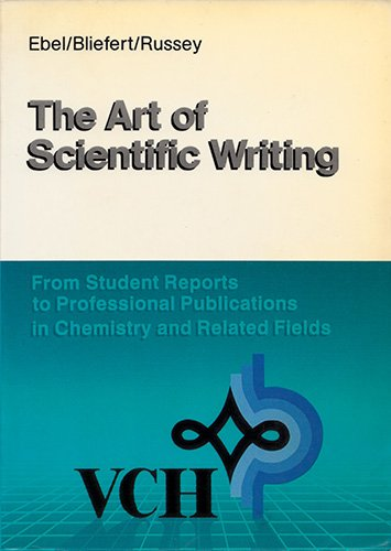 9780895736451: The Art of Scientific Writing