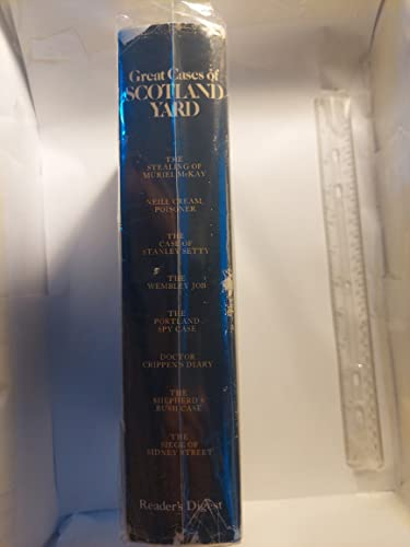 9780895770530: Great Cases of Scotland Yard