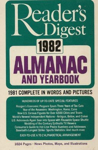 Reader's Digest Almanac and Yearbook, 1982: Digest, Reader's